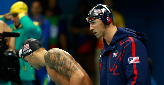 Michael Phelps Rio 2016 - (Adam Pretty-Getty Images)