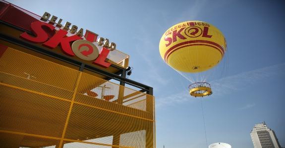 balão skol