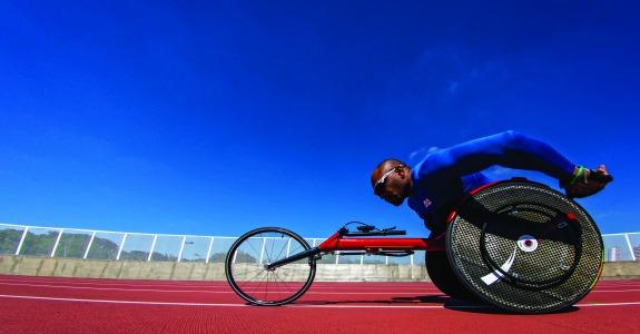 23/08/2016 - Brasil, SP, São Paulo, Centro de Treinamento Paralímpico -  Aclimatação da delegação paralímpica brasileira para os Jogos Rio 2016. Atletismo - Ariosvaldo da Silva, o Parre. ©Marcio Rodrigues/MPIX/CPB
